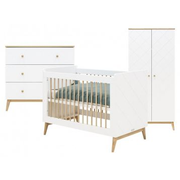 Bopita 3-Delige Babykamer Paris 1