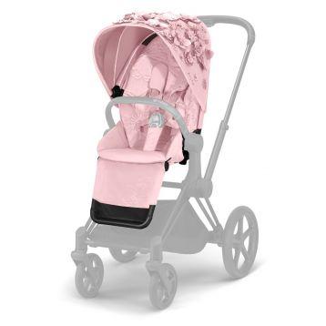Cybex Priam Stoelbekleding Fashion Simply Flowers Light Pink