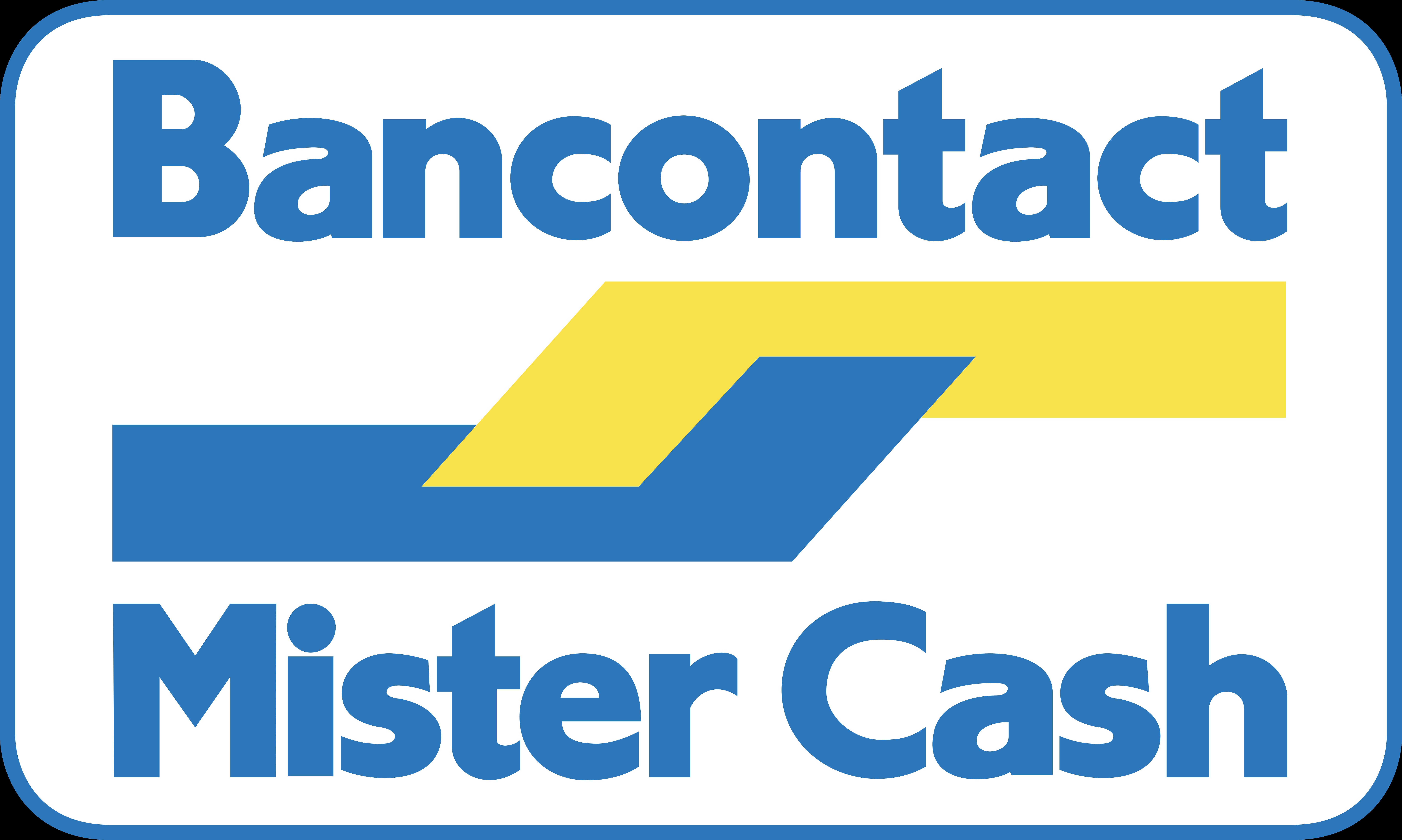 Logo Bancontact Mister Cash